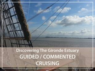 Commented cruising on the Gironde estuary