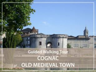 Walking guided tour : Old town of Cognac